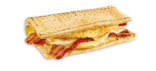 Sendvič s vejcem a slaninou