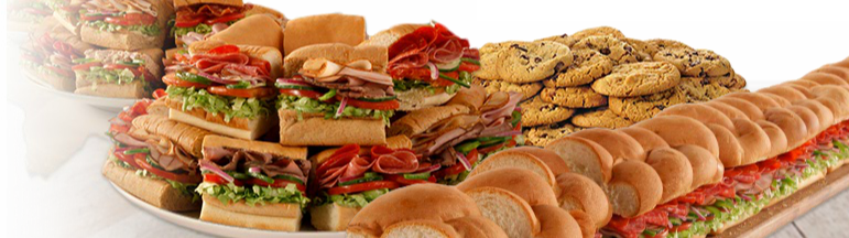 Subway catering for your next party time