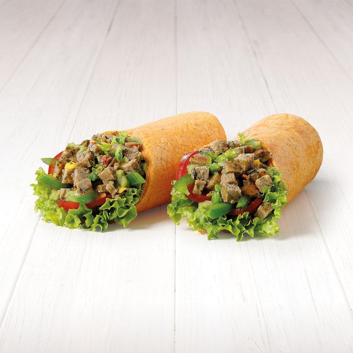Spicy Meatleass Quenn - veganský zeleninový plátek